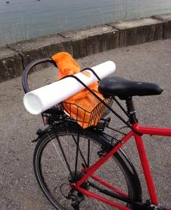 red bike detail